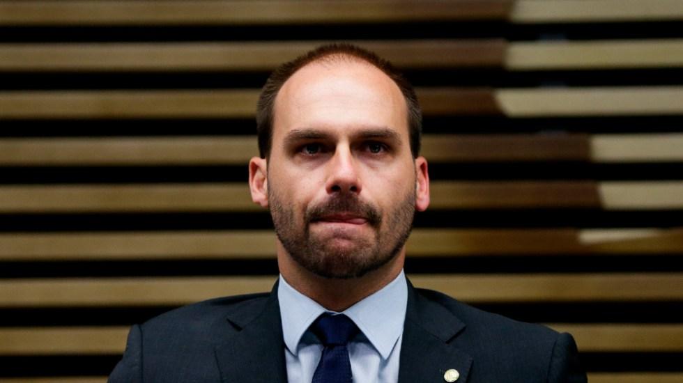 Hijo de Bolsonaro da positivo a COVID-19 tras volver de la ONU - Eduardo Bolsonaro