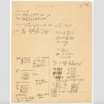 Subastarán manuscrito de Einstein sobre teoría de la relatividad