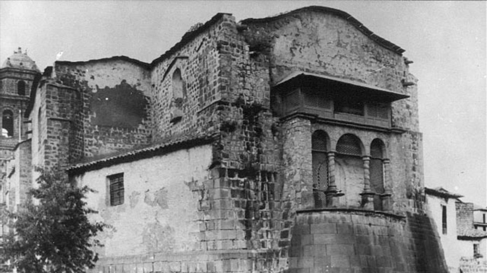 El Mensaje - Templo de Santo Domingo antes del temblor. Foto de WikiCommons.