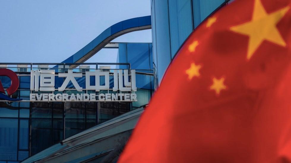 Crisis de Evergrande, advertencia sobre el mercado inmobiliario chino - Crisis de Evergrande, advertencia sobre el mercado inmobiliario chino. Foto de EFE