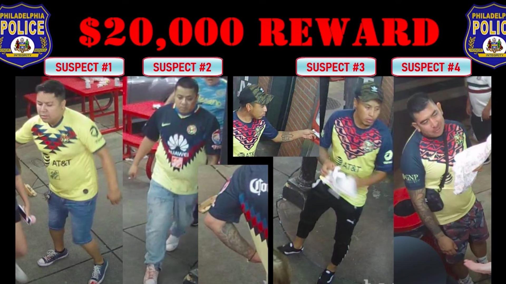 #Video Ofrecen recompensa de 20 mil dólares tras riña en la que murió fanático del América. Foto tomada de video