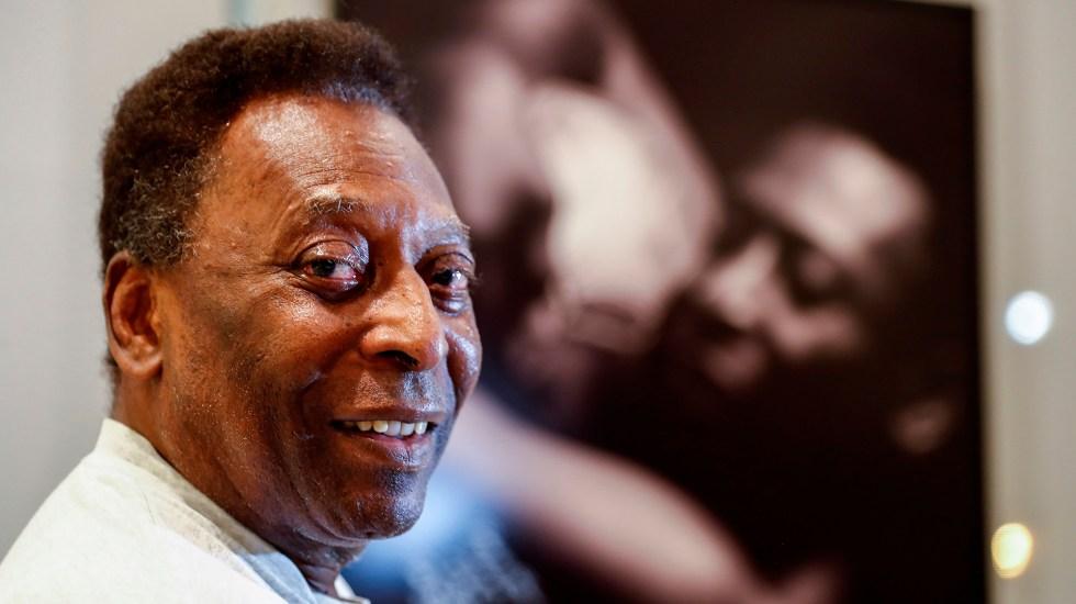 """""""Estoy recuperándome bien"""", el primer mensaje de Pelé tras cirugía de colon - Pelé"""