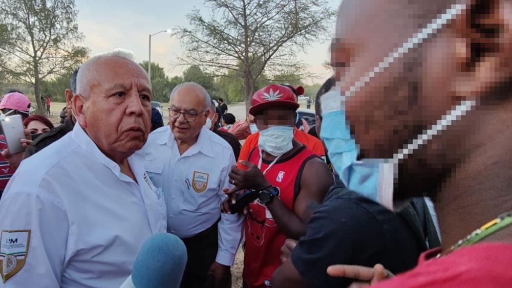"""""""En el cielo hay control migratorio"""": Francisco Garduño, comisionado del INM - Francisco Garduño INM"""