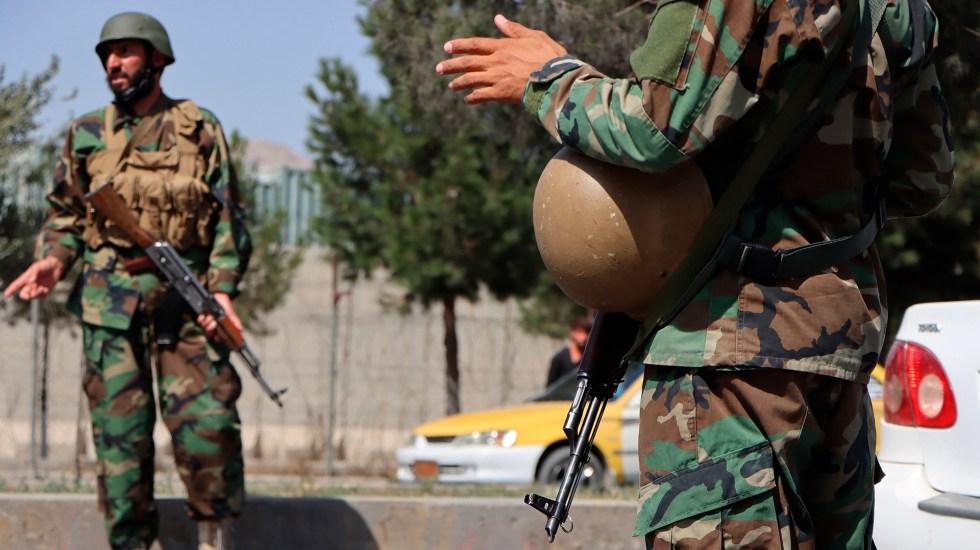 Talibanes intensifican ofensiva contra Panjshir, último bastión opositor - Fuerzas talibanes en Kabul