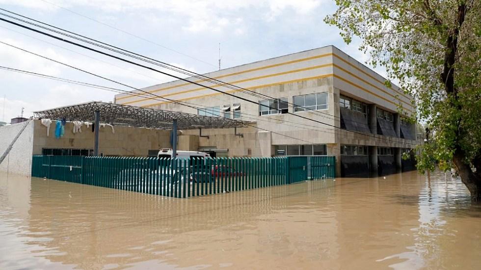 """López Obrador reconoce que fue """"la semana más difícil"""" por desastres - hospital IMSS inundaciones Tula Hidalgo desastres"""