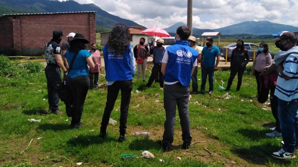 ONU-DH pide a autoridades dar seguridad a indígenas purépechas - indígenas purépechas ONU DH México