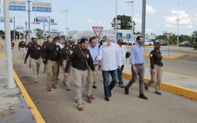 Reconoce Ken Salazar labor de autoridades migratorias en Tabasco - INM Ken Salazar El Ceibo Tabasco
