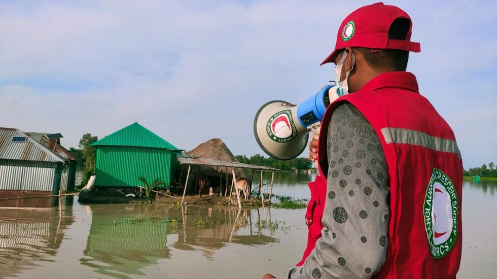 Crisis climática y COVID-19 han impactado a 139 millones de personas - Inundaciones en Bangladesh