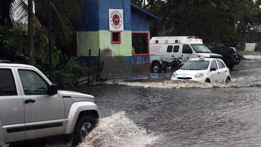 Inundaciones San Blas Nayarit Depresión tropical