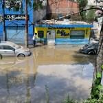 Prevén casos de COVID-19 entre afectados por inundaciones de Tula - Inundaciones en Tula, Hidalgo. Foto de López-Dóriga Digital.