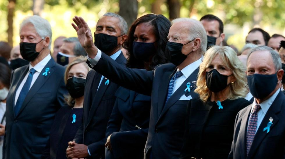 Joe Biden pide no olvidar a víctimas del 11 de septiembre - Joe Biden 11S