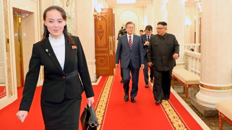 """Seúl debe mejorar su """"actitud"""" para mejorar lazos: hermana de Kim Jong-un - Kim Yo Jong hermana Corea del Norte"""