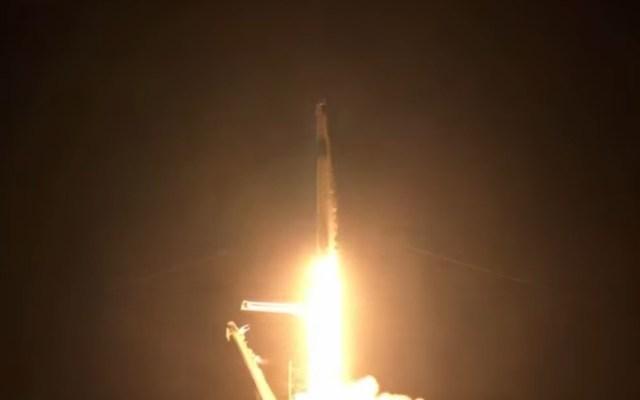 Cápsula de SpaceX despega con la primera misión de civiles al espacio - Lanzamiento Crew Dragon SpaceX