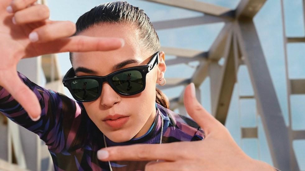 #Video Facebook y Ray-Ban presentan lentes inteligentes - Facebook y Ray-Ban presentan lentes inteligentes. Foto de EFE