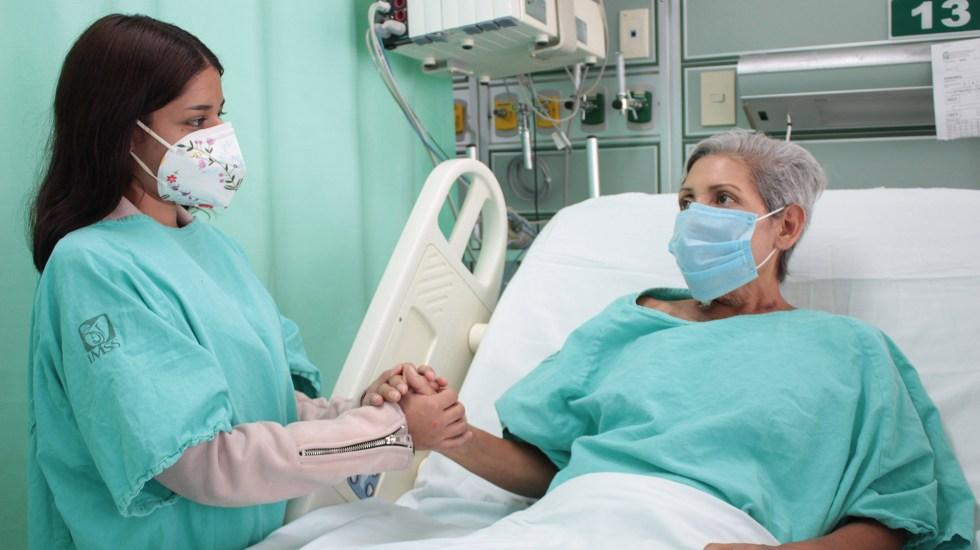IMSS logra trasplante hepático en mujer con hígado invadido por quistes - Lilia, paciente del IMSS que recibió un trasplante de hígado