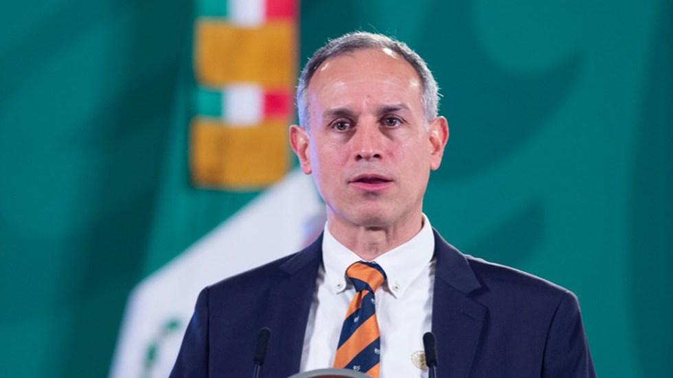 """""""Desafortunado"""", buscar bienestar individual al vacunar a menores: López-Gatell - López-Gatell en conferencia matutina"""