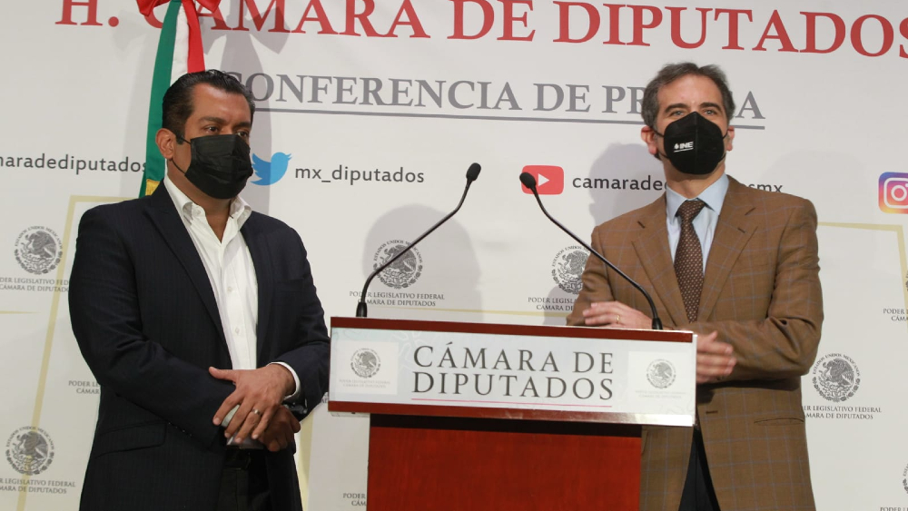INE ejerce permanentemente su autonomía: Lorenzo Córdova - Lorenzo Córdova Sergio Gutiérrez INE diputados