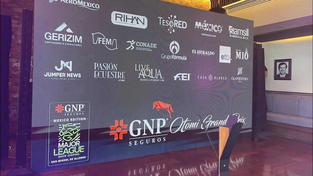 Presentan el GNP Otomí Grand Prix, el evento que reúne a los mejores jinetes del mundo - GNP OTOMÍ GRAND PRIX
