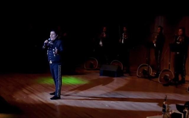 '15 de septiembre', interpretada por Luís Alfredo Jiménez y el Mariachi Vargas de Tecalitlán - Foto Especial