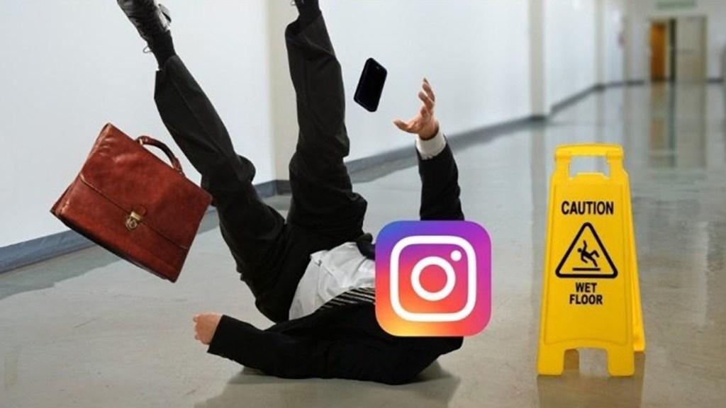 Se cae Instagram y llegan los memes a Twitter - Meme sobre caída de Instagram