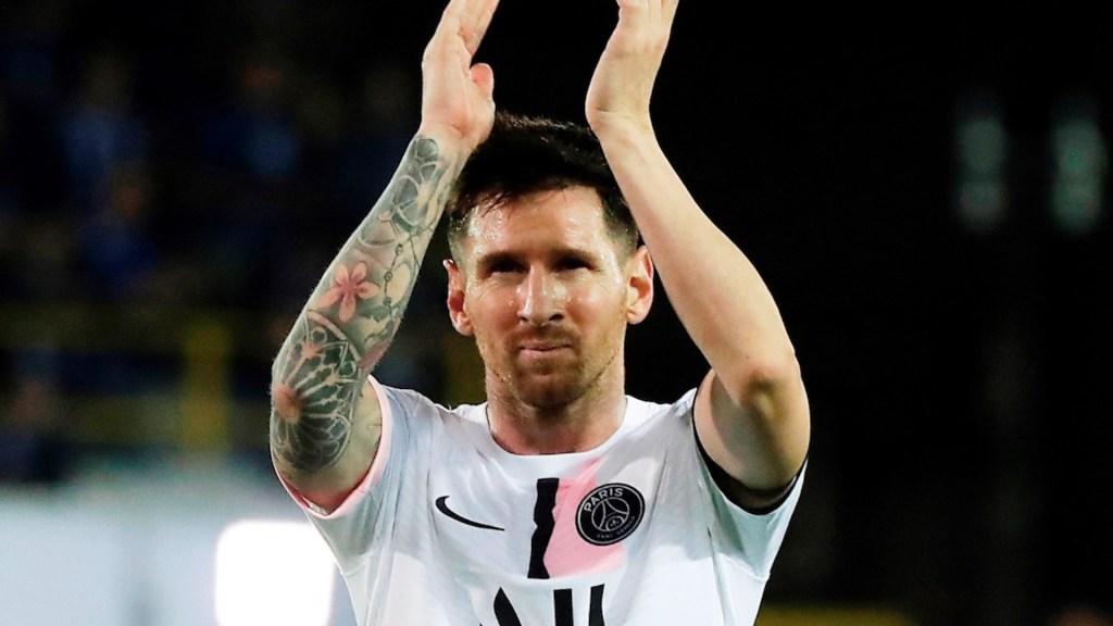 Messi ganará en París 110 millones de euros si cumple contrato de 3 años - Messi ganará en París 110 millones de euros si cumple contrato de 3 años. Foto de EFE