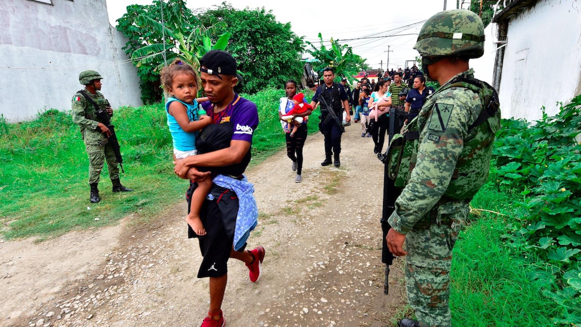 HRW acusa a México de expulsión masiva de migrantes sin debido proceso. Foto de EFE