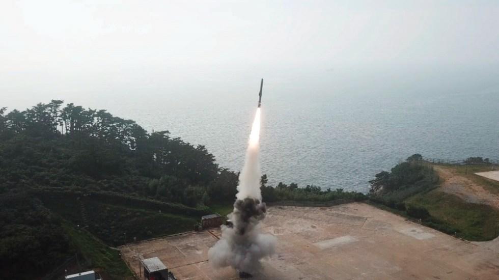 Corea del Norte dispara dos misiles y Seúl responde lanzando otro - misiles misil