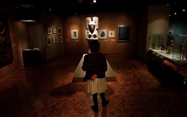"""El Museo de Antropología inauguró una exposición sobre la """"grandeza de México"""" - Foto de EFE"""