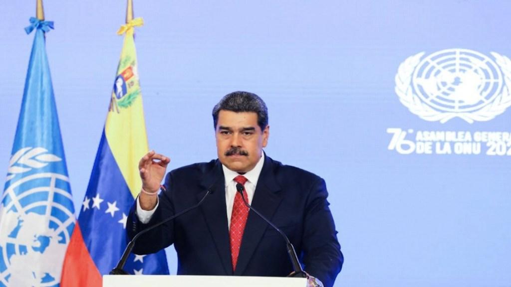 Maduro exige en la ONU que se levanten sanciones contra Venezuela - Maduro exige en la ONU que se levanten sanciones contra Venezuela. Foto de Twitter Nicolás Maduro