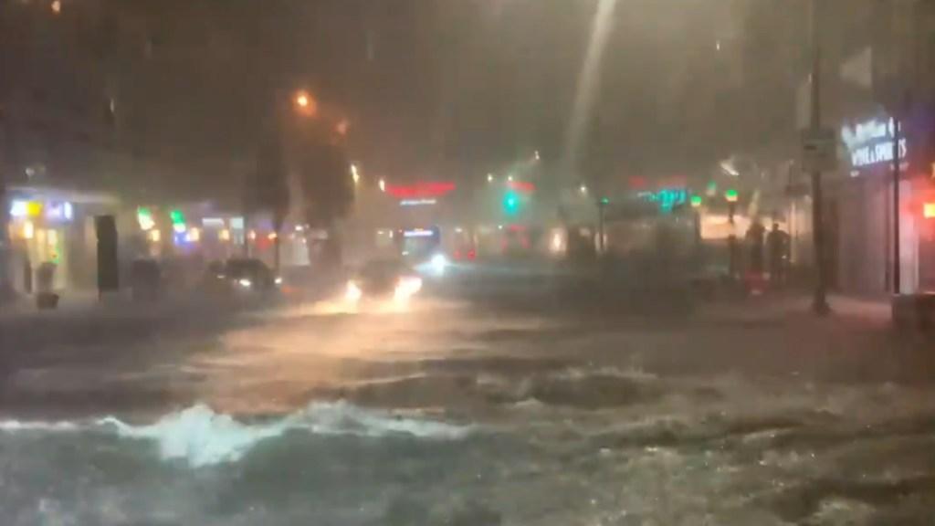 Alerta por tormentas y tornado en Nueva York ante paso de Ida - Nueva York inundaciones lluvias
