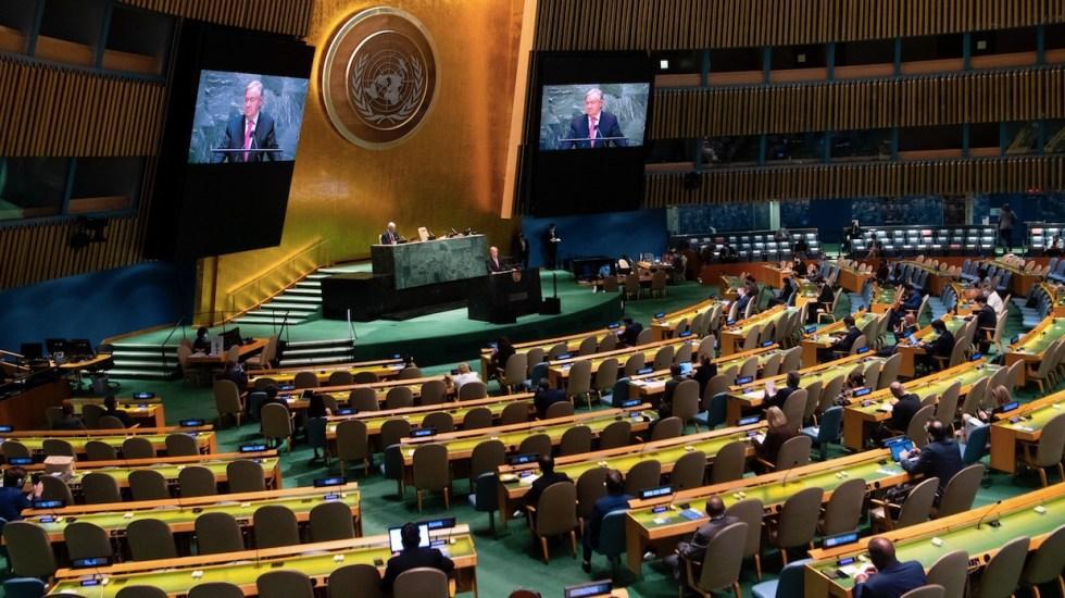 ONU busca nuevo consenso global para la era posterior al COVID-19 - ONU busca nuevo consenso global para la era posterior al COVID-19. Foto de EFE
