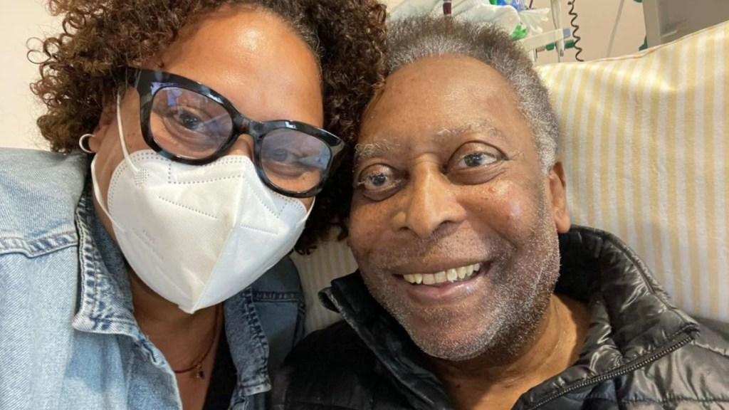 """Pelé estable tras una """"breve inestabilidad respiratoria"""" - Pelé hospital hospitalizado Brasil"""
