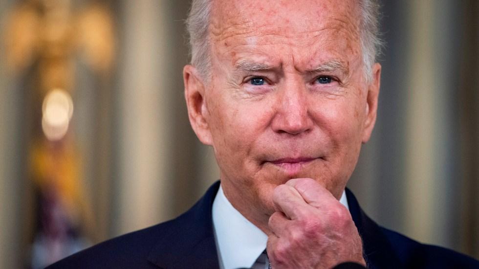 Aprobación de Biden cae a 44 % por manejo del retiro de tropas de Afganistán - Presidente Joe Biden de EE.UU.