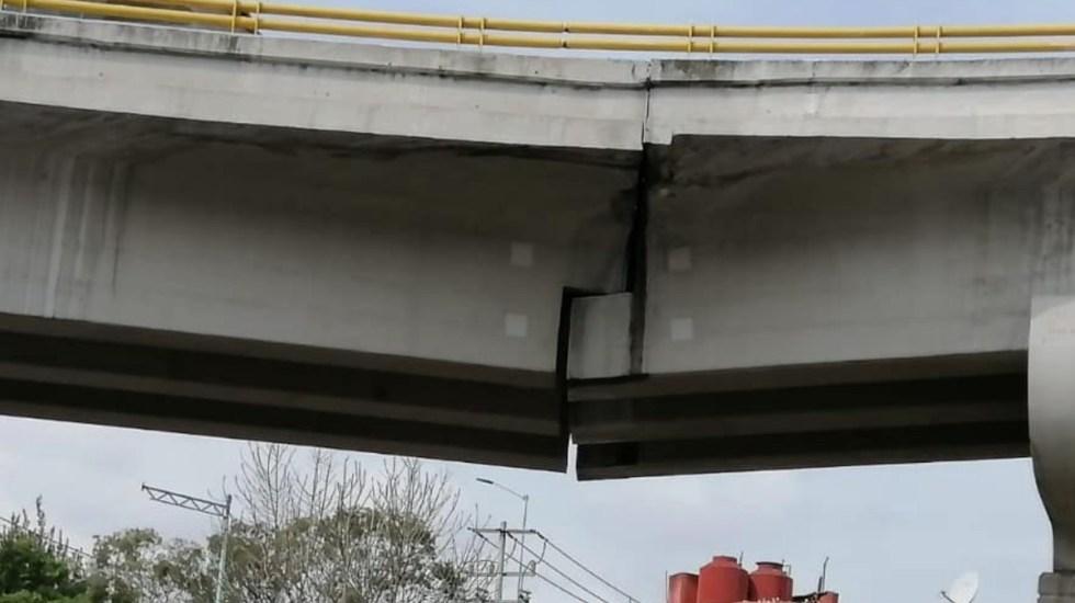 Claros en puente de Cuernavaca no representan peligro para la población - Claros en puente de Cuernavaca no representan peligro para la población. Foto de Instagram Joaquín López-Dóriga