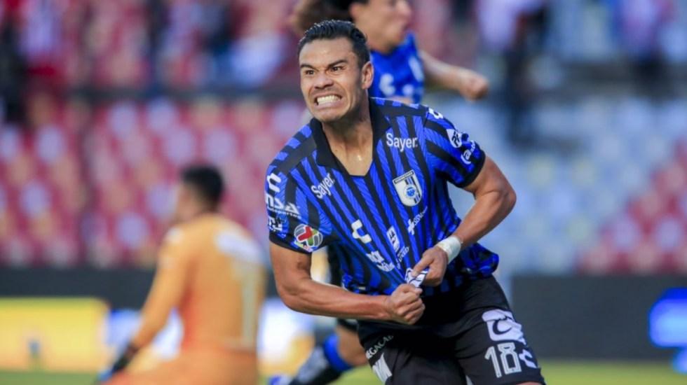 Querétaro golea a Necaxa y logra su primer triunfo en el Apertura 2021 - Querétaro Necaxa