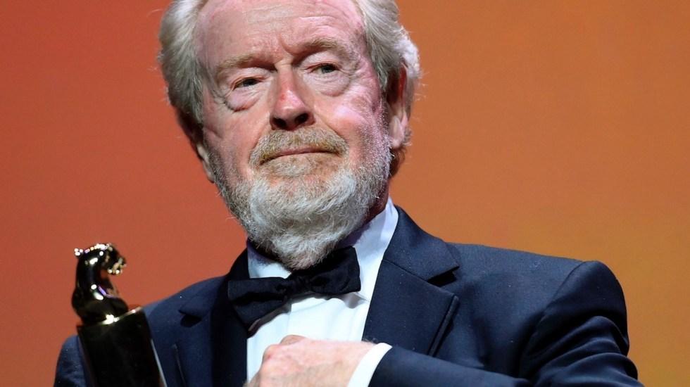 Ridley Scott recibe premio especial en Venecia por su prolífica carrera - Ridley Scott recibe premio especial en Venecia por su prolífica carrera. Foto de EFE