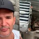 #Video Asaltan en CDMX y roban estéreo a coche del actor Julio Camejo
