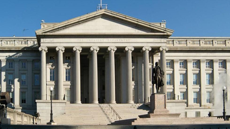 EE.UU. incluye al mexicano Sergio Valenzuela en su lista de narcotraficantes - Sede del Departamento del Tesoro de EE.UU.