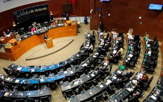 Senado exige a INE recabar firmas físicas para revocación de mandato - Senado México senadores bancada
