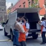 #Video Antojitos mexicanos para convivio en Palacio Nacional - #Video Antojitos mexicanos para convivio en Palacio Nacional. Foto tomada de video