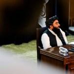 Los talibanes agradecen la ayuda y piden rebajar la presión sobre Afganistán - Talibanes Afganistán gobierno interino