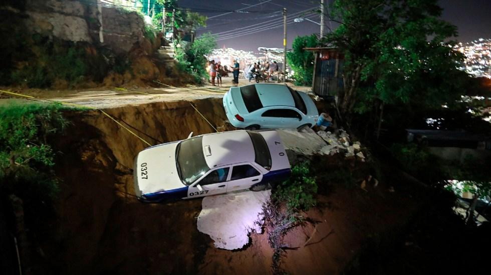 Un muerto y dos heridos tras sismo magnitud 7.1, confirma Protección Civil - temblor sismo Acapulco Guerrero 7sep21