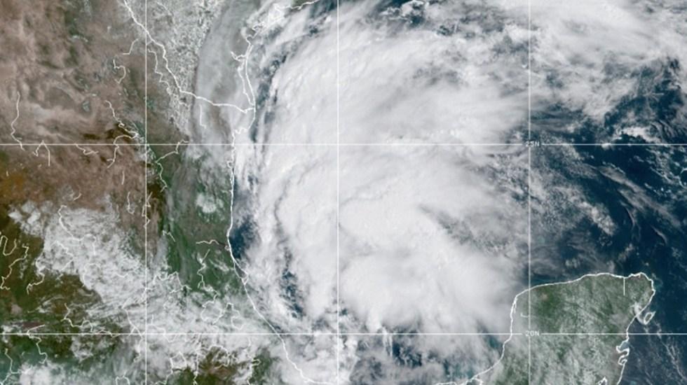 Bajas presiones en Golfo de México podrían derivar en tormenta tropical Nicholas - Tormenta tropical Nicholas
