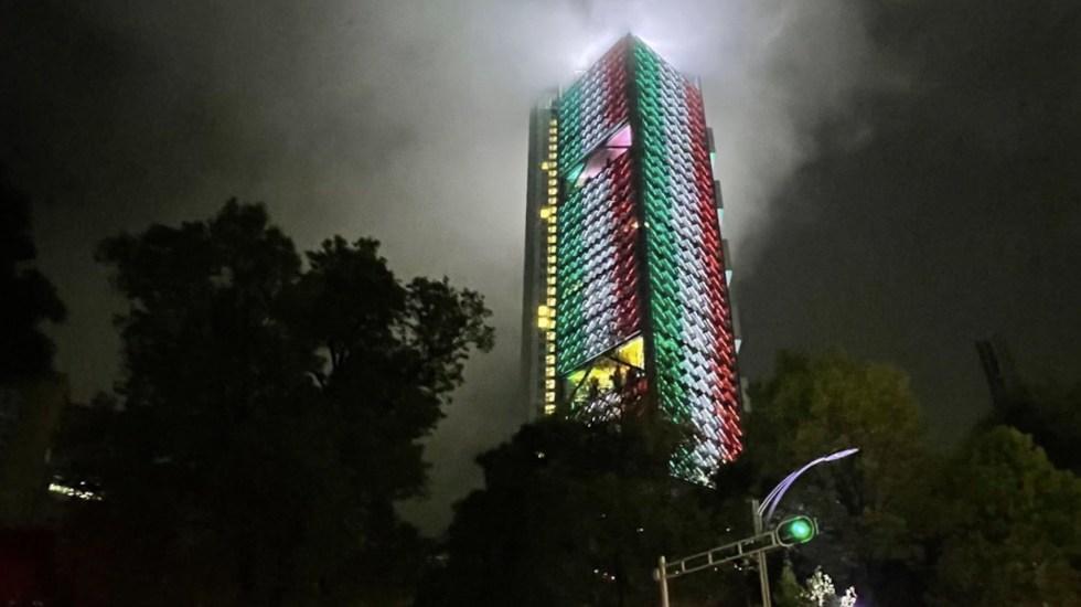 Las oficinas corporativas de BBVA México no presentan daños tras sismo - Torre BBVA.
