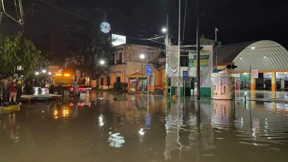 Gobierno activa Plan DN-III-E por inundaciones en Tula, Hidalgo - Tula Hidalgo inundaciones 7sep2021