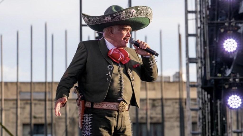 Vicente Fernández continúa en terapia intensiva; mantiene discreta mejoría - Vicente Fernández continúa en terapia intensiva; mantiene discreta mejoría. Foto de Instagram Vicente Fernández