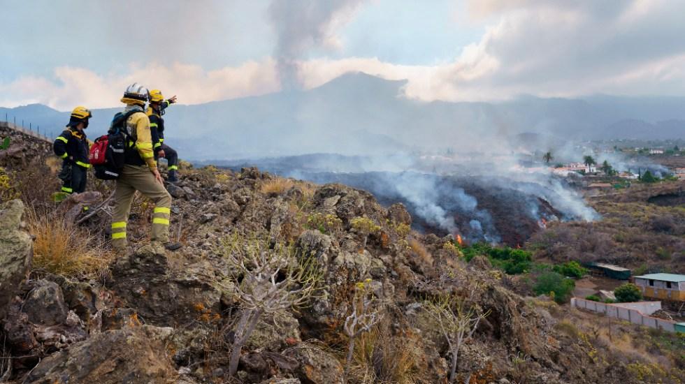 Surge nueva boca eruptiva del volcán Cumbre Vieja, en España; ya son más de 5 mil evacuados - volcán Cumbre Vieja España La Palma