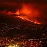 Entra en erupción un volcán en la isla española de La Palma - Volcán La Palma Canarias
