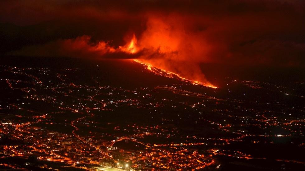 Más de 5 mil desalojados por erupción de volcán en archipiélago de Canarias - Volcán La Palma Canarias