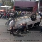 Volcadura en Calzada de Tlalpan deja un muerto y tres lesionados